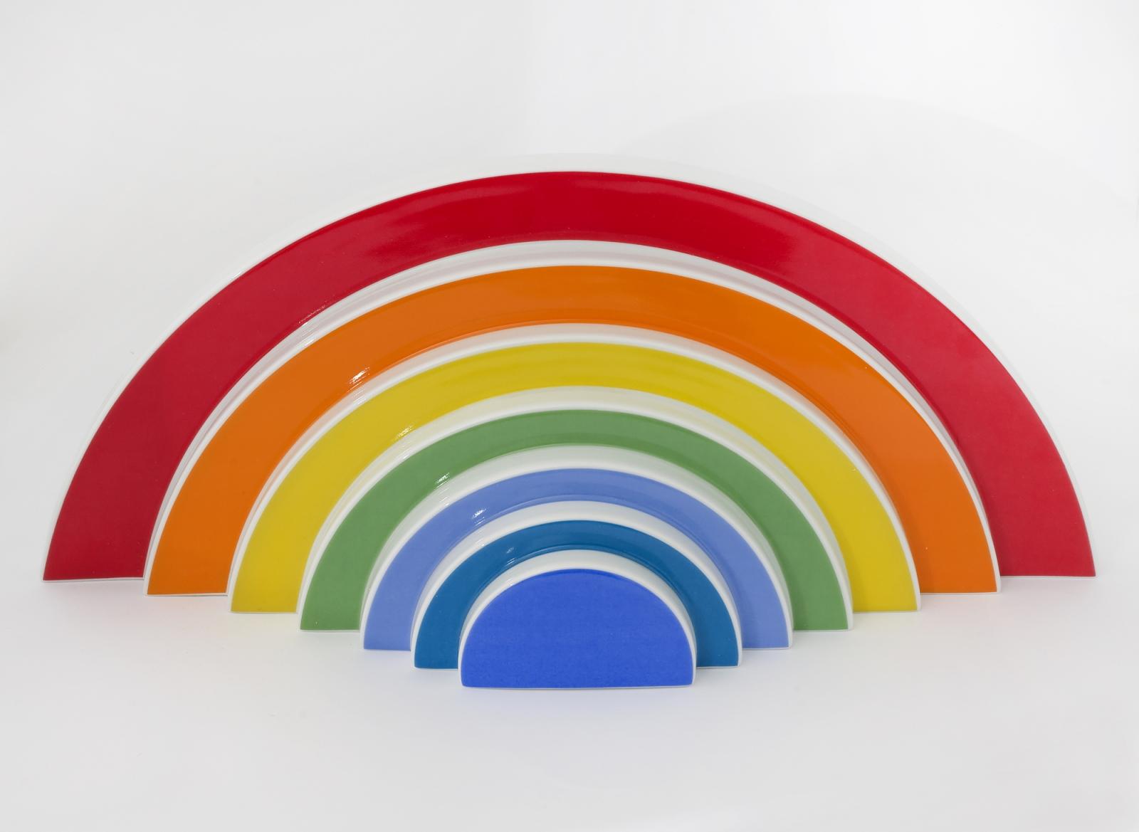 Otto Piene Rainbow Erling Neby Samling Erling Neby